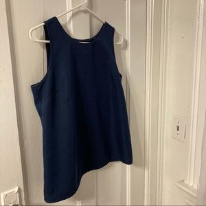 J Crew Slit Back Thick Tank